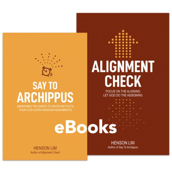 Say to Archippus and Alignment Check eBook Bundle
